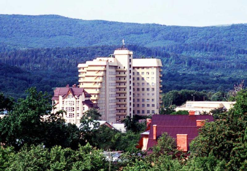Розташування санаторіїв Трускавця
